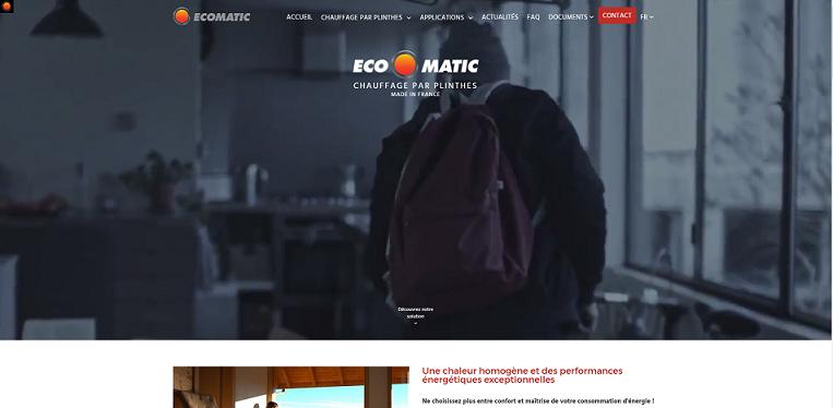 Ecomatic nouveau site